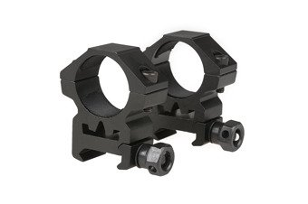 Two-part 25mm optics mount for RIS rail (low)